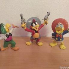 Figuras de Goma y PVC: COLECCIÓN FIGURAS LOS TRES CABALLEROS COMICS SPAIN. Lote 202840578