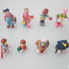 Figuras de Goma y PVC: COLECCIÓN COMPLETA PAJARRACOS COMIC SPAIN. Lote 202847332
