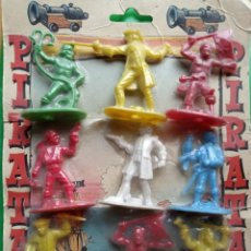 Figuras de Goma y PVC: RARO CARTÓN PIRATAS AÑOS 60 REAMSA. Lote 202991947