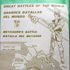 Figuras de Goma y PVC: ALBUM ROJAS Y MALARET GRANDES BATALLAS. Lote 202992298