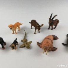 Figuras de Borracha e PVC: FIGURAS ANIMALES SCHLEICH. Lote 203056712