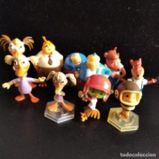 Figuras Kinder: LITTLE CHICKEN - COLECCION LOTE DE 10 FIGURAS KINDER - DISNEY. Lote 175433759