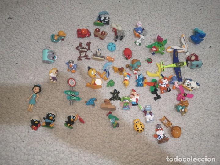 LOTE FIGURAS HUEVO KINDER SORPRESA (Juguetes - Figuras de Gomas y Pvc - Kinder)