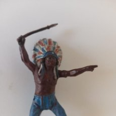 Figuras de Goma y PVC: FIGURA INDIO TEIXIDO GOMA. Lote 203173998