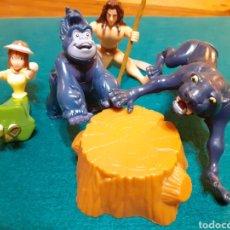 Figuras de Goma y PVC: LOTE TARZAN FAMOSA DISNEY. Lote 203195886