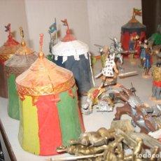 Figuras de Goma y PVC: GRAN LOTE DE FIGURAS MEDIEVALES MAS DE 60 ¿REAMSA JECSAN ?. Lote 203295410