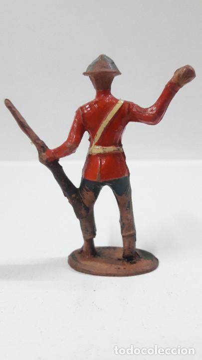 Figuras de Goma y PVC: ANTIGUO SOLDADO DE INFANTERIA - AMERICANO . REALIZADO POR ALCA - CAPELL . AÑOS 50 EN GOMA - Foto 2 - 203451975