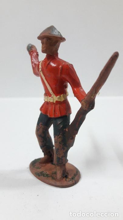 Figuras de Goma y PVC: ANTIGUO SOLDADO DE INFANTERIA - AMERICANO . REALIZADO POR ALCA - CAPELL . AÑOS 50 EN GOMA - Foto 3 - 203451975