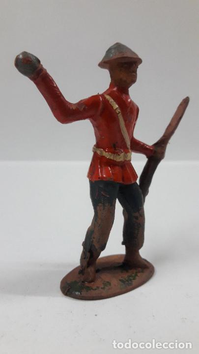 Figuras de Goma y PVC: ANTIGUO SOLDADO DE INFANTERIA - AMERICANO . REALIZADO POR ALCA - CAPELL . AÑOS 50 EN GOMA - Foto 4 - 203451975
