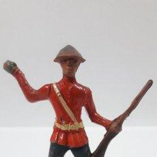 Figuras de Goma y PVC: ANTIGUO SOLDADO DE INFANTERIA - AMERICANO . REALIZADO POR ALCA - CAPELL . AÑOS 50 EN GOMA. Lote 203451975