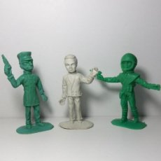 Figuras de Goma y PVC: LOTE 3 FIGURAS VIGILANTES DEL ESPACIO THUNDERBIRDS COMANSI 209. Lote 203562497