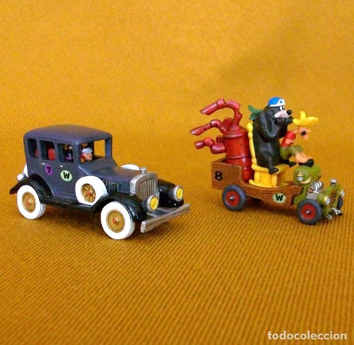 Figuras de Goma y PVC: DUNKIN DE LUXE / 2 AUTOS LOCOS HANNA-BARBERA - Foto 2 - 203587676
