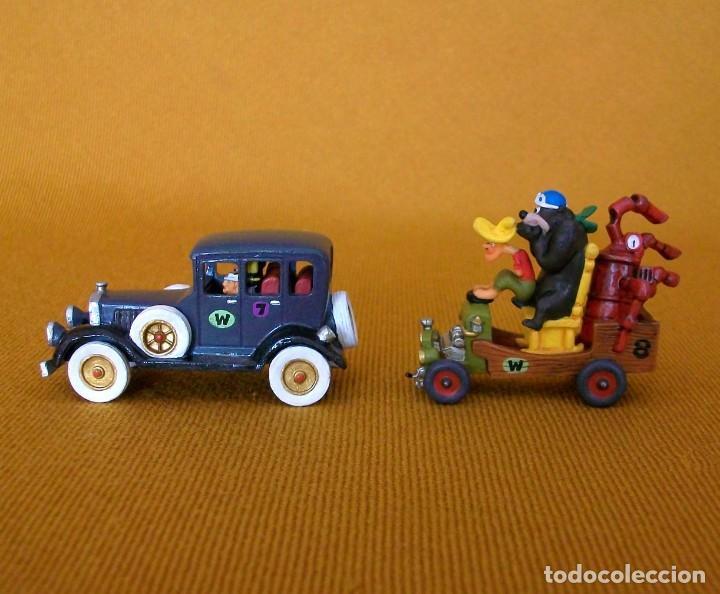 Figuras de Goma y PVC: DUNKIN DE LUXE / 2 AUTOS LOCOS HANNA-BARBERA - Foto 3 - 203587676