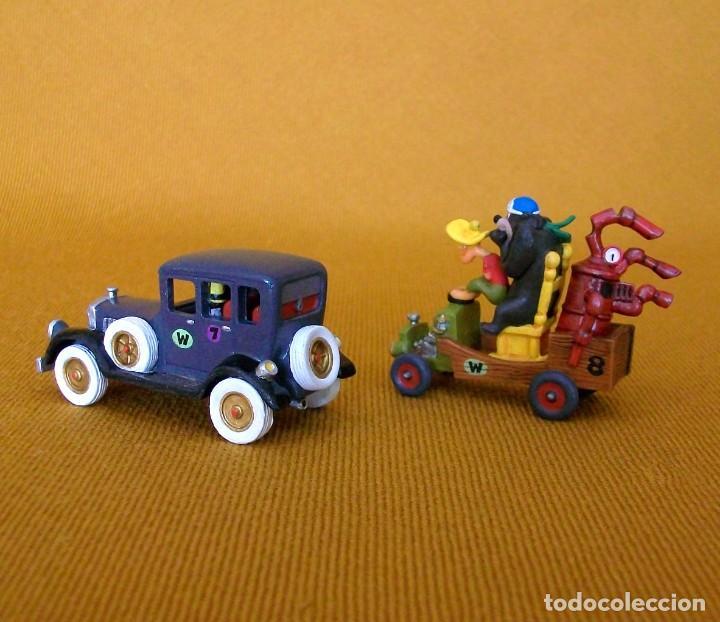 Figuras de Goma y PVC: DUNKIN DE LUXE / 2 AUTOS LOCOS HANNA-BARBERA - Foto 4 - 203587676