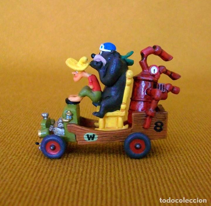 Figuras de Goma y PVC: DUNKIN DE LUXE / 2 AUTOS LOCOS HANNA-BARBERA - Foto 5 - 203587676