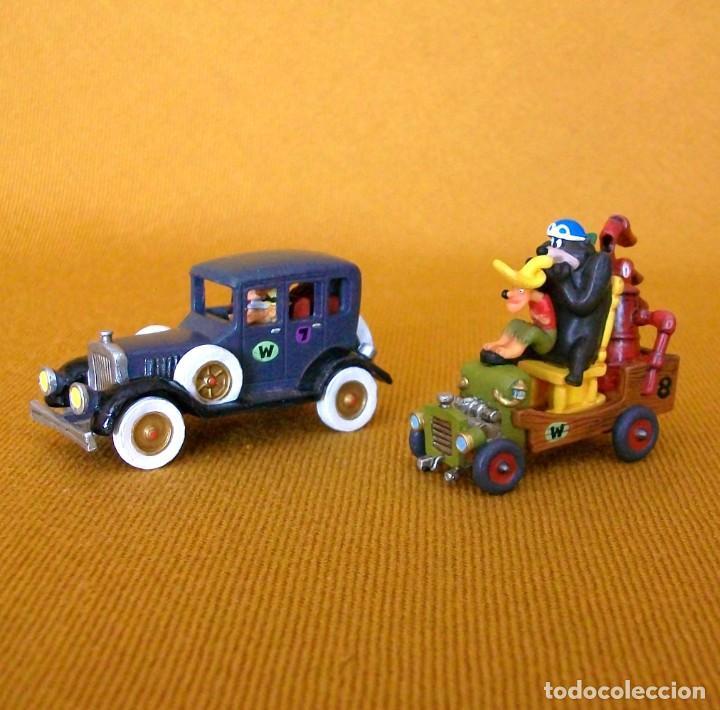 DUNKIN DE LUXE / 2 AUTOS LOCOS HANNA-BARBERA (Juguetes - Figuras de Goma y Pvc - Dunkin)