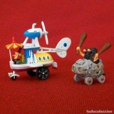 Figuras de Goma y PVC: DUNKIN DE LUXE / 2 AUTOS LOCOS HANNA-BARBERA. Lote 203588237