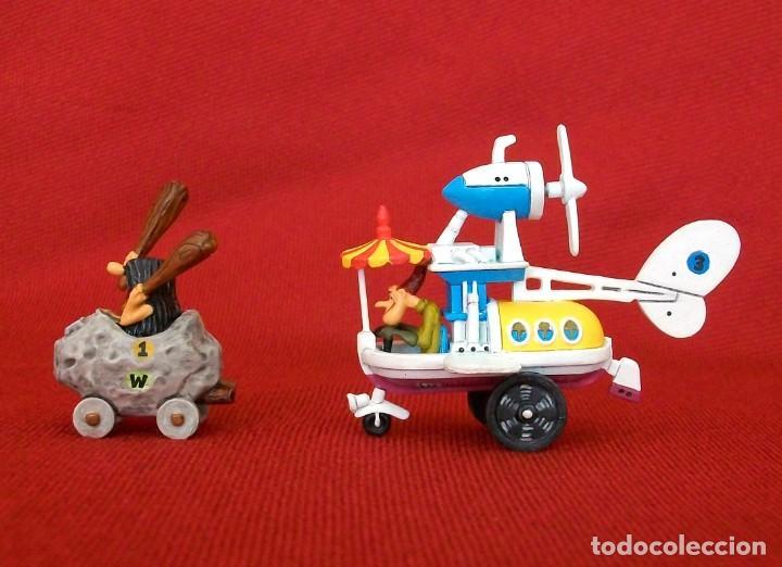 Figuras de Goma y PVC: DUNKIN DE LUXE / 2 AUTOS LOCOS HANNA-BARBERA - Foto 2 - 203588237