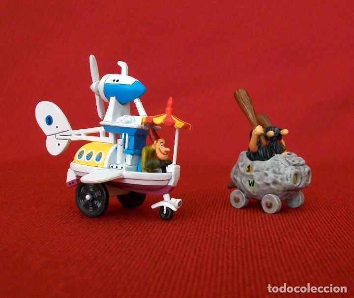 Figuras de Goma y PVC: DUNKIN DE LUXE / 2 AUTOS LOCOS HANNA-BARBERA - Foto 4 - 203588237