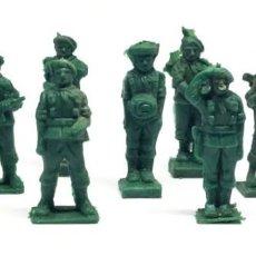 Figuras de Goma y PVC: LOTE 9 PARACAIDISTAS CACAO TODDY NÚMEROS 2, 3, 4, 5, 7, 9, 10, 11 Y 12 – AÑOS 60. Lote 203623805
