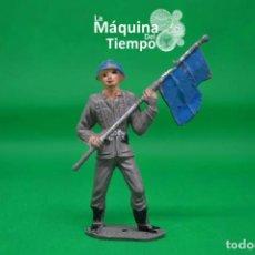 Figuras de Goma y PVC: SOLDADO ESPAÑOL CASCO AZUL DE COMANSI 2ª ÉPOCA. AÑOS 70. EJÉRCITOS DEL MUNDO. EJÉRCITO ESPAÑOL.. Lote 203630967