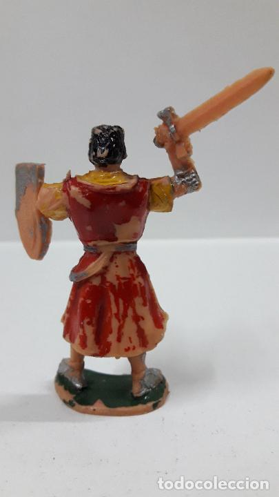 Figuras de Goma y PVC: EL CAPITAN TRUENO . REALIZADO POR ESTEREOPLAST . ORIGINAL AÑOS 60 - Foto 2 - 203761775