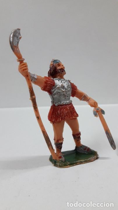 Figuras de Goma y PVC: EL VIKINGO CHIEF - SERIE EL CAPITAN TRUENO . REALIZADO POR ESTEREOPLAST . ORIGINAL AÑOS 60 - Foto 4 - 203761205