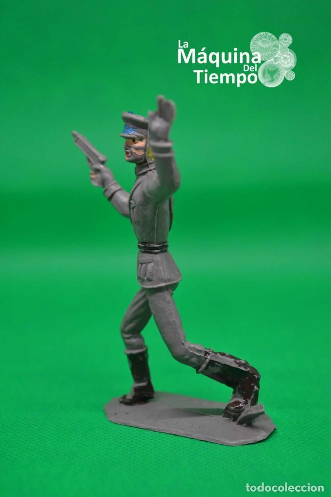 Figuras de Goma y PVC: Oficial alemán (Nº1049) de Comansi 1ª época. Años 60. Ejércitos del Mundo. Ejército alemán. - Foto 2 - 203939060