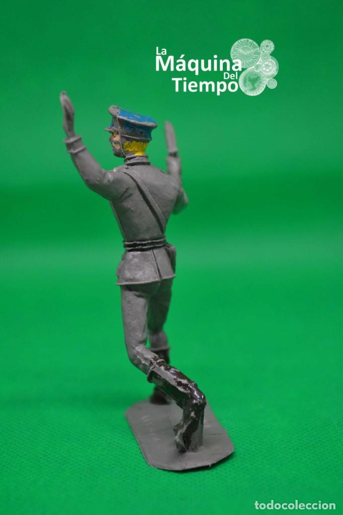 Figuras de Goma y PVC: Oficial alemán (Nº1049) de Comansi 1ª época. Años 60. Ejércitos del Mundo. Ejército alemán. - Foto 3 - 203939060