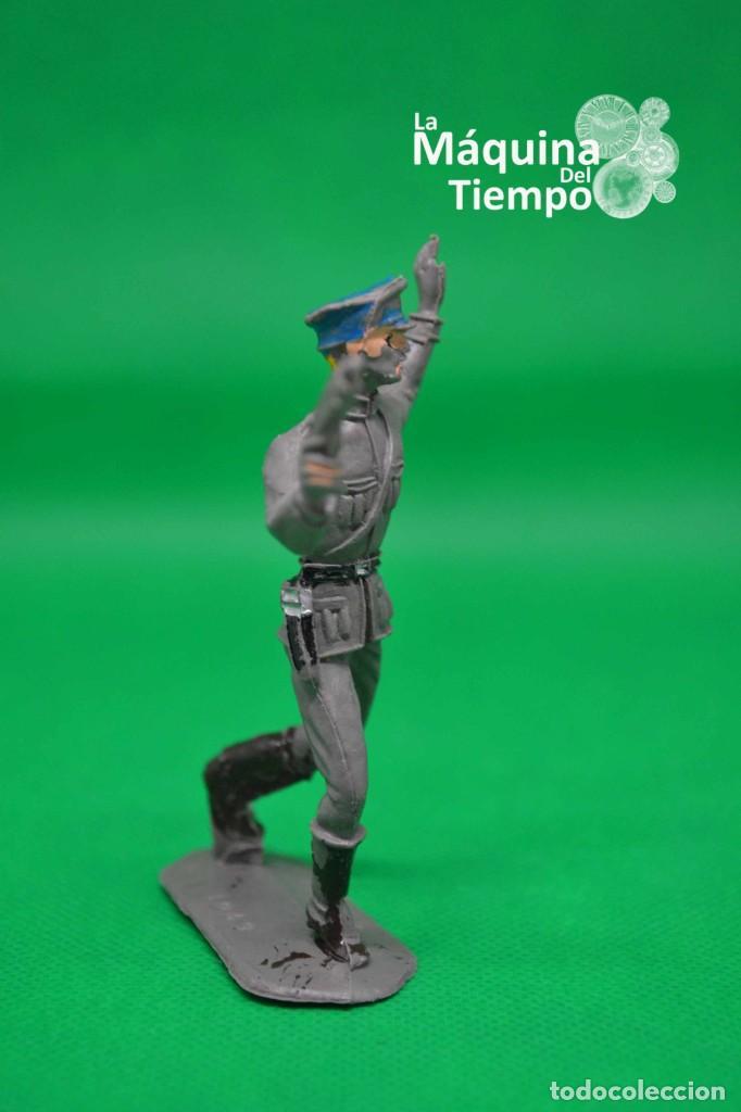Figuras de Goma y PVC: Oficial alemán (Nº1049) de Comansi 1ª época. Años 60. Ejércitos del Mundo. Ejército alemán. - Foto 6 - 203939060