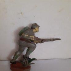 Figuras de Goma y PVC: FIGURA PECH SOLDADO JAPONES EN GOMA. Lote 203980158