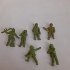 Figuras de Goma y PVC: FIGURAS SOLDADOS AMERICANOS DUNKIN VERDE. Lote 204002591