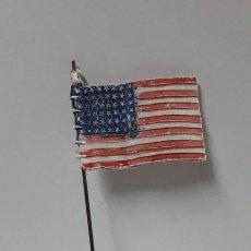 Figuras de Goma y PVC: BANDERA AMERICANA . REALIZADA POR PECH .ORIGINAL AÑOS 60. Lote 204013820