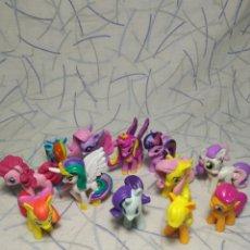 Figuras de Goma y PVC: 12 PEQUEÑOS PONYS. Lote 204097675