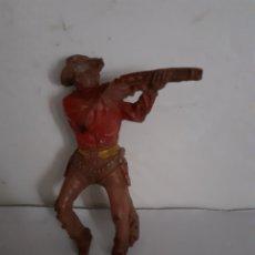 Figuras de Goma y PVC: FIGURA VAQUERO GOMA LAFREDO,PECH,JECSAN,REAMSA. Lote 204182008