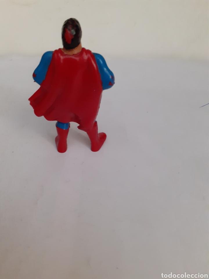 Figuras de Goma y PVC: FIGURA GOMA SUPERMAN RARA ANTIGUA EURO SPAIN COMICS - Foto 2 - 204251806