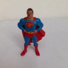 Figuras de Goma y PVC: FIGURA GOMA SUPERMAN RARA ANTIGUA EURO SPAIN COMICS. Lote 204251806