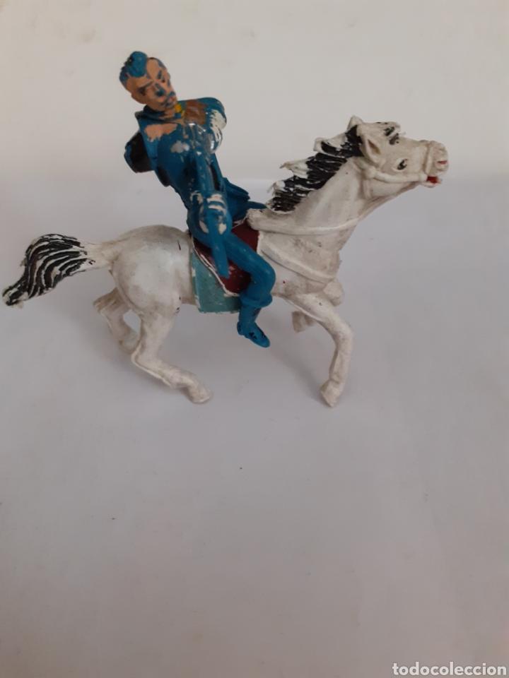 Figuras de Goma y PVC: FIGURA NORDISTA CABALLO PLASTICO,REAMSA,JECSAN,PECH - Foto 2 - 204262125