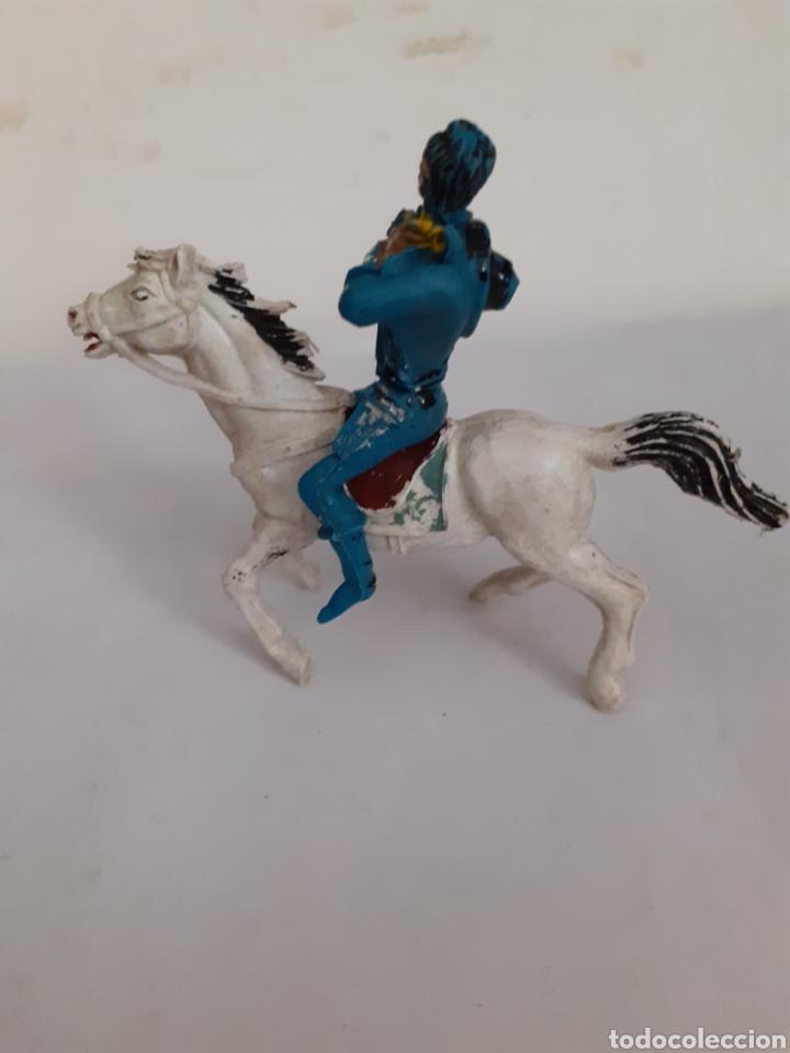 Figuras de Goma y PVC: FIGURA NORDISTA CABALLO PLASTICO,REAMSA,JECSAN,PECH - Foto 3 - 204262125