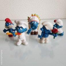 Figuras de Goma y PVC: LOTE DE PITUFOS PVC. Lote 49863411