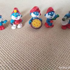 Figuras de Goma y PVC: LOTE PITUFOS GOMA ABUELOS. Lote 204362177