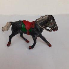 Figuras de Goma y PVC: CABALLO VAQUERO GOMA TEIXIDO. Lote 204387262