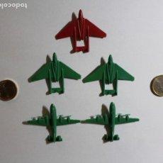Figuras de Goma y PVC: PEQUEÑOS AVIONES DE SOBRES DE KIOSKO. MONTAPLEX. AÑOS 60. MUY BUEN ESTADO. VER FOTOS.. Lote 204423578