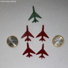 Figuras de Goma y PVC: PEQUEÑOS AVIONES DE SOBRES DE KIOSKO. MONTAPLEX. AÑOS 60. MUY BUEN ESTADO. VER FOTOS.. Lote 204423706