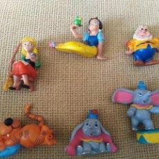 Figuras de Goma y PVC: LOTE MUÑECOS DE GOMA. Lote 204590308