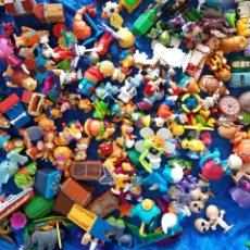 Figuras Kinder: MÁS DE 150 MUÑECOS DE KINDER SORPRESA. Lote 204602683