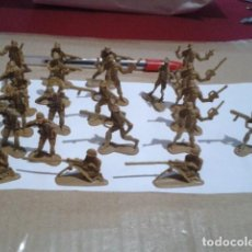 Figuras de Goma y PVC: LOTE 21 SOLDADOS MONTAPLEX O SIMILAR VER FOTOS. Lote 204618247