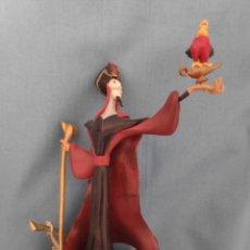 Figuras de Goma y PVC: FIGURA DE YAFAR SOBRE GENIO ALADDIN. Lote 204621972