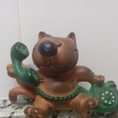 Figuras de Goma y PVC: GATO ISIDORO. Lote 204629948