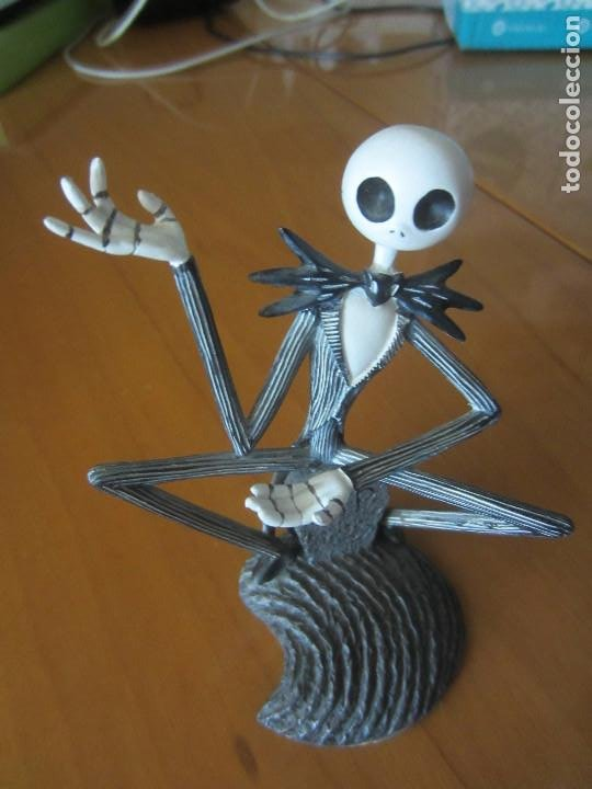 PESADILLA ANTES DE NAVIDAD-FIGURA JACK SKELETON (Juguetes - Figuras de Goma y Pvc - Otras)